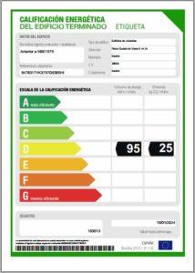 Certificado energetico para un consumo responsable de energía