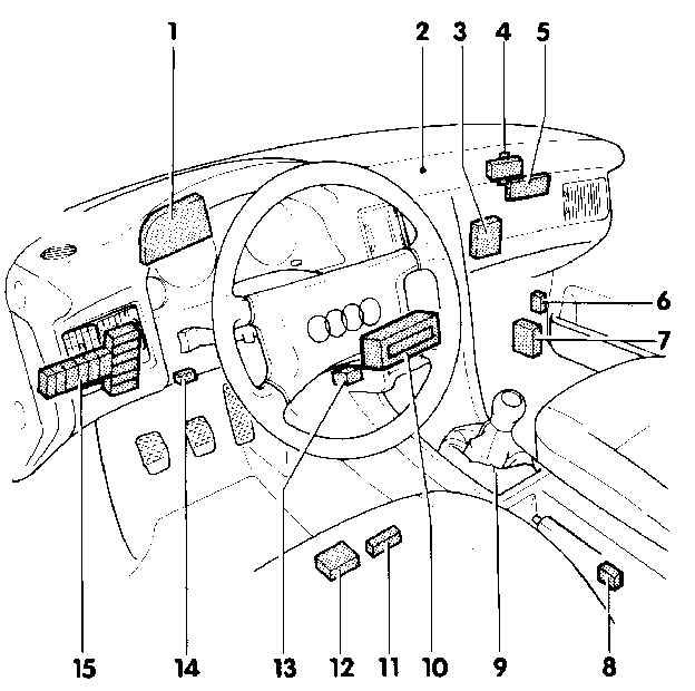 Audi 80 Schaltplang