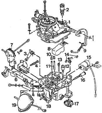 Ауди 80, 90, Купе (Б3). Карбюраторы Keihin. Audi 80 / 90