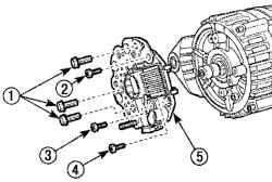 Дэу Матиз. Ремонт и проверка генератора типа В (DAC