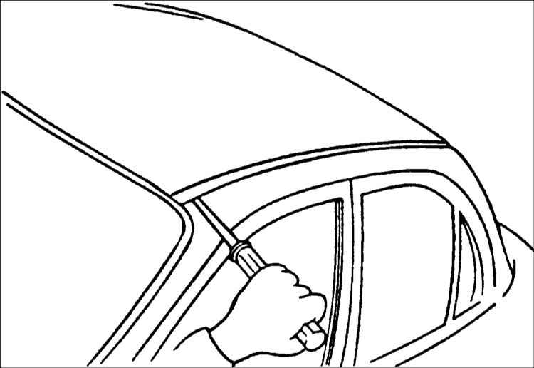 Хендай Акцент. Молдинги. Hyundai Accent
