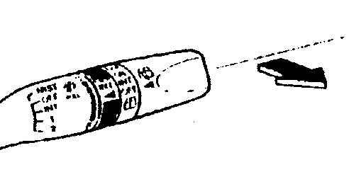 Мазда 626. Стеклоочиститель и омыватель ветрового стекла