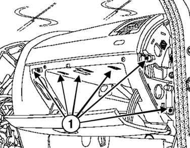 Рено Меган 2. Снятие и установка фильтра системы