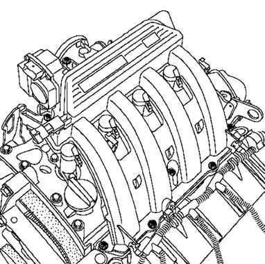 Рено Меган 2. Снятие и установка впускного коллектора