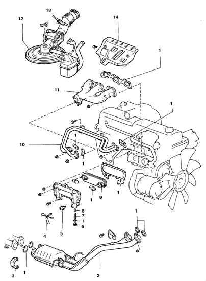 Тойота Ленд Крузер. Маслоохладитель. Toyota Land Cruiser