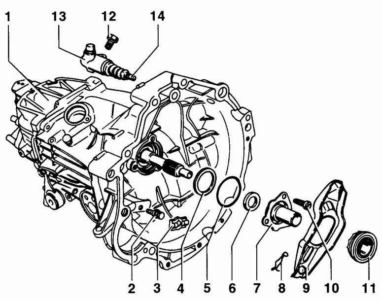 Фольксваген Пассат Б5. Сцепление. Volkswagen Passat B5