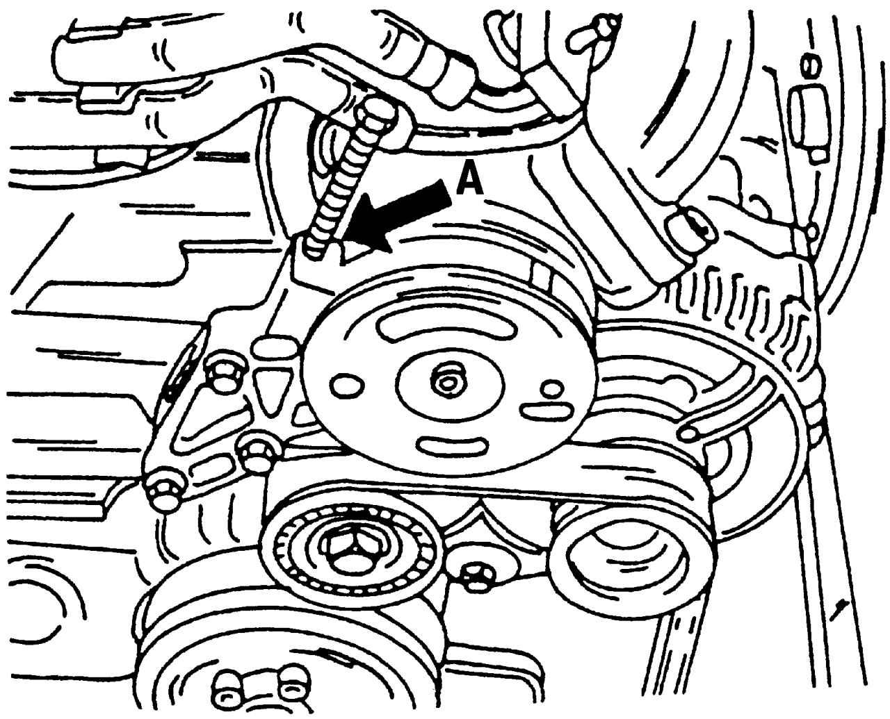 Фольксваген Шаран. Поликлиновой ремень. Volkswagen Sharan