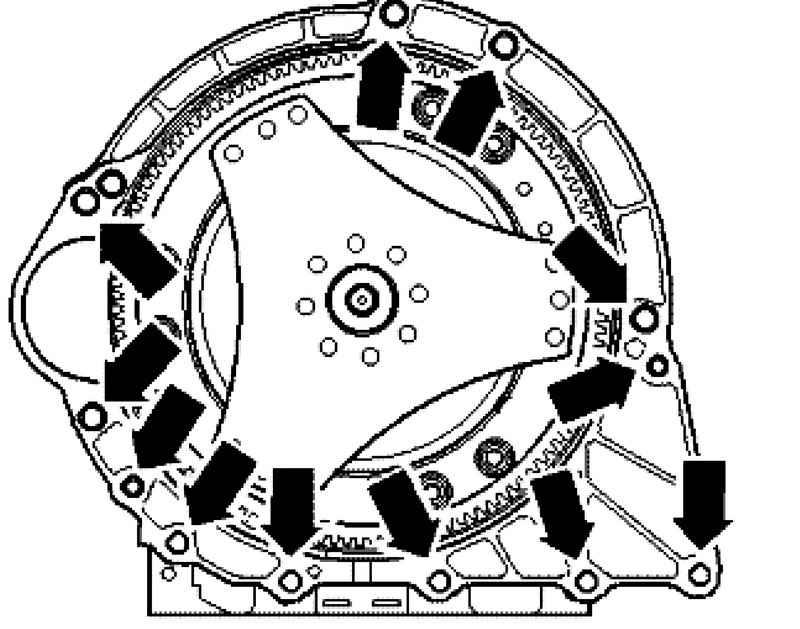 Фольксваген Туарег. Снятие и установка коробки передач