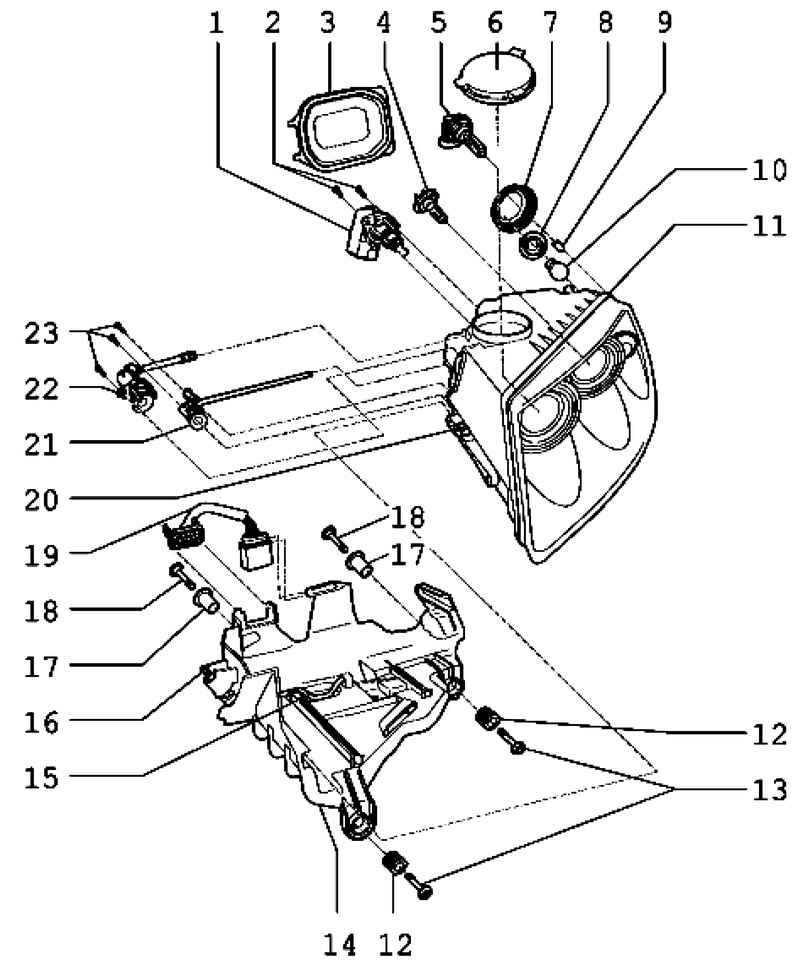 Фольксваген Туарег. Снятие и установка фар. Volkswagen Touareg