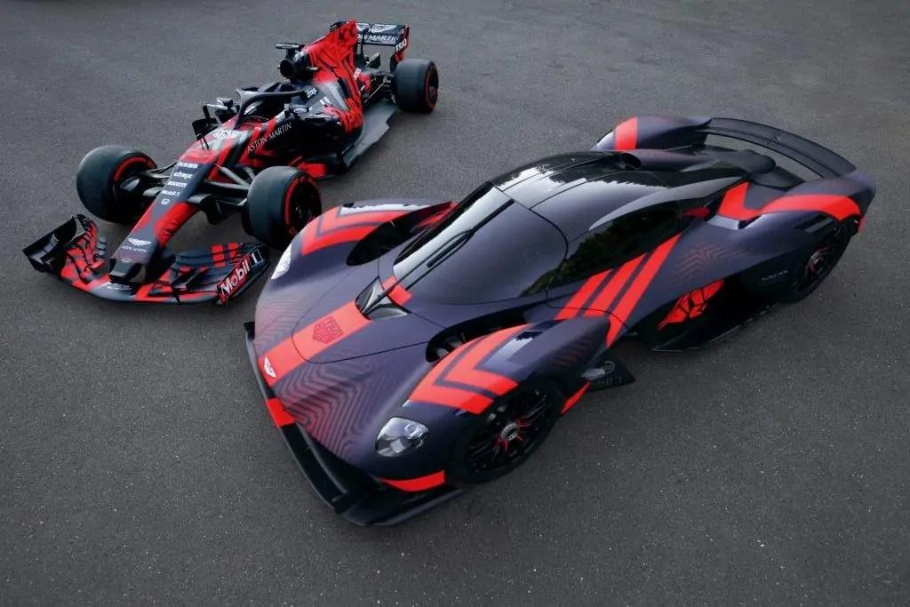 Aston Martin Valkyrie Hypercar con DNA da Formula1