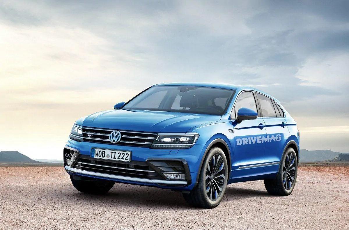 Nuova Volkswagen Tiguan 2020 ecco il render in anteprima