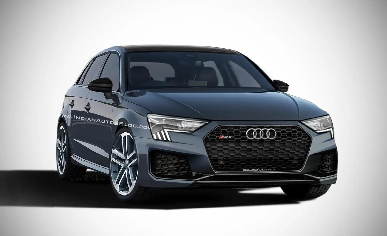 Nuova Audi A3 2020, sarà anche sportiva RS3