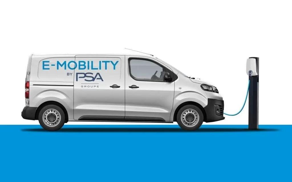 PSA scommette sui furgoni elettrici dal 2020