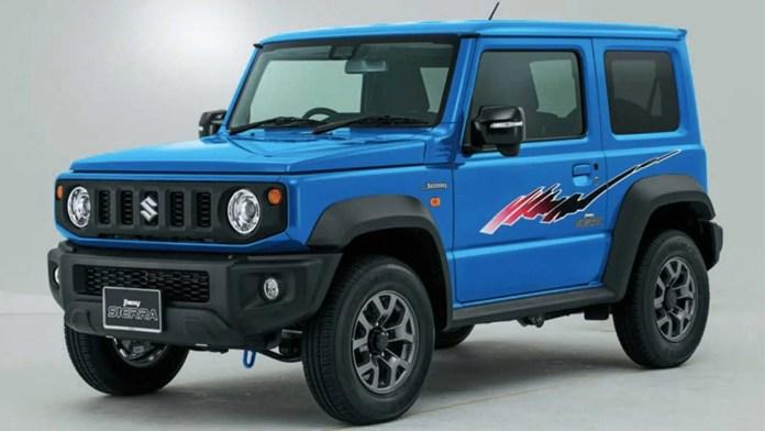 Suzuki-Jimny-design samurai