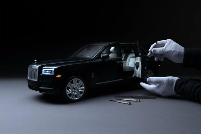 Rolls-Royce Cullinan, il modello in scala 1:8 è da Sogno