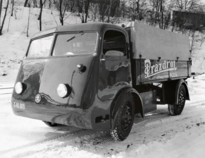 La prima Skoda elettrica? Nel 1938 era un camion per la Birra