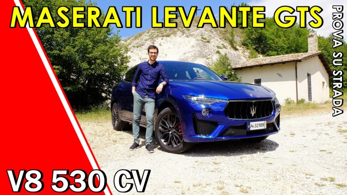 Maserati Levante GTS V8 3.8 530 CV, il VIDEO Test Drive