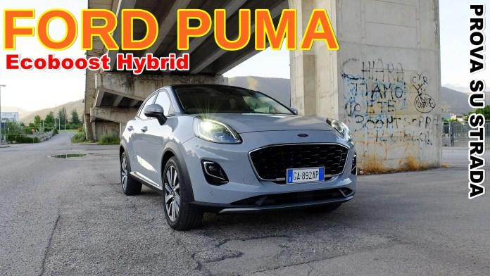 Ford Puma 1.0 Hybrid 48V 125 CV, il VIDEO Test Drive