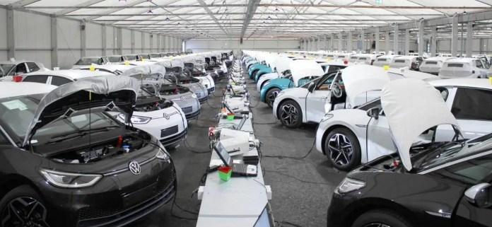 Nuova Volkswagen ID3 2021, aggiornamento manuale del Software