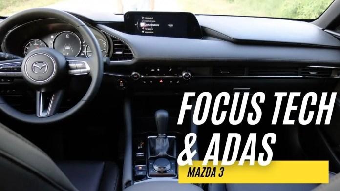 Mazda 3 2021, FOCUS TECH, Infotainment, ADAS [VIDEO]