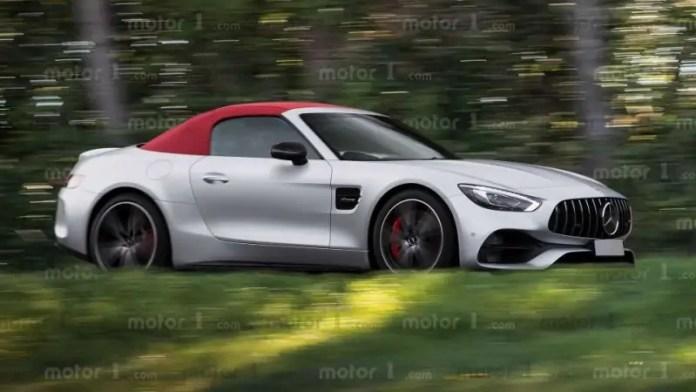 Nuova Mercedes-Benz SL 2022, Anticipazioni e Rendering in Anteprima