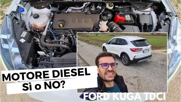 AUTO NUOVA: Motore DIESEL Sì o NO? con Ford Kuga Mild Hybrid [VIDEO]