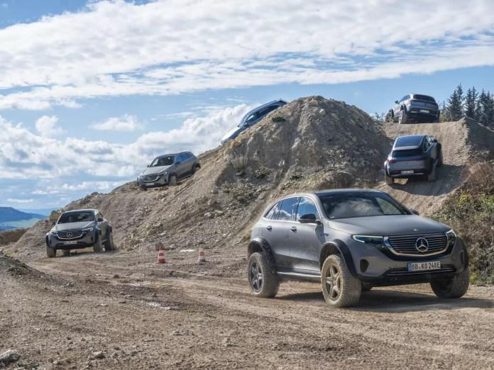 Nuova Mercedes-Benz EQC 4×4² 2021, il SUV elettrico diventa estremo!