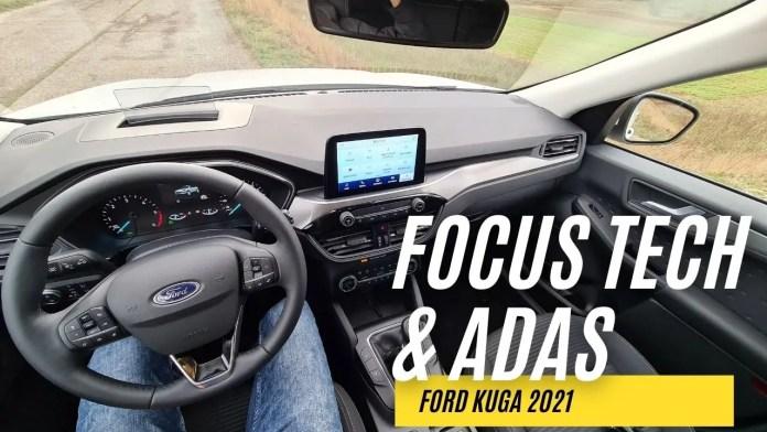 Ford Kuga Titanium, FOCUS TECH, Infotainment, ADAS [VIDEO]