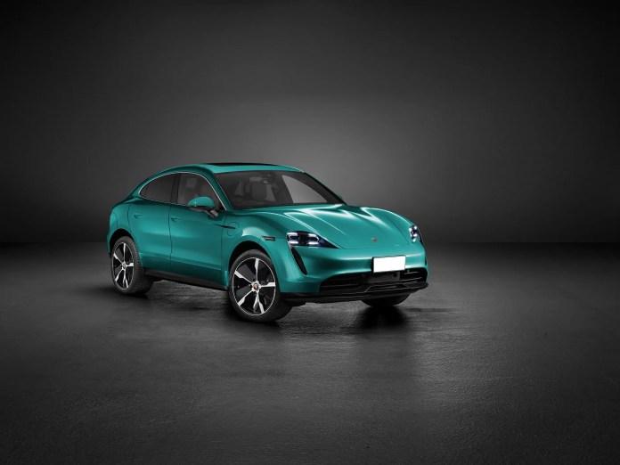 Nuova Porsche Macan 2021, Rendering del SUV elettrico