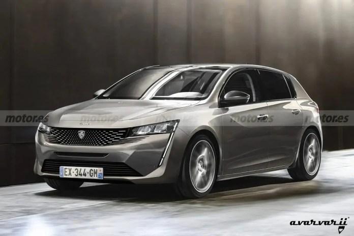 Nuova Peugeot 308 2021, il Rendering in Anteprima esclusiva