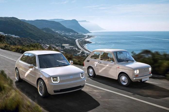 Nuova Fiat 126 2022, il sogno nel Rendering in Anteprima