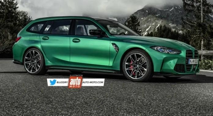 Nuova BMW M3 Touring 2021, Anticipazioni e nuovo Rendering