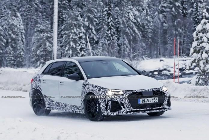 Nuova Audi RS3 2022, Anticipazioni e Foto