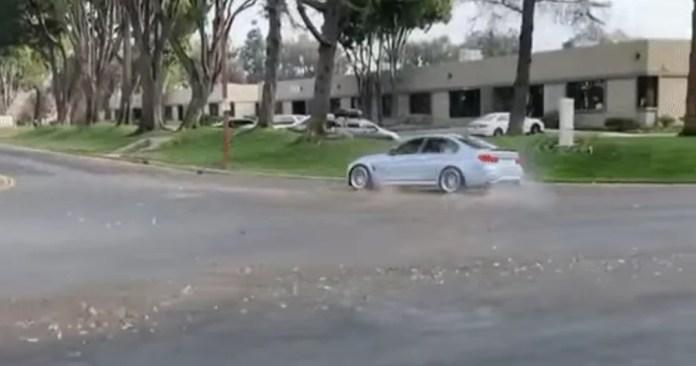 BMW M3 lascia male il Raduno [VIDEO]
