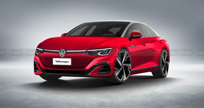 Nuova Volkswagen ID Berlina 2023, Elettrica anti Tesla Model S