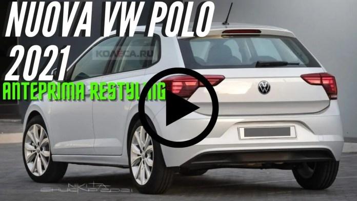 Volkswagen Polo 2022   le Anticipazioni sul Restyling [VIDEO]