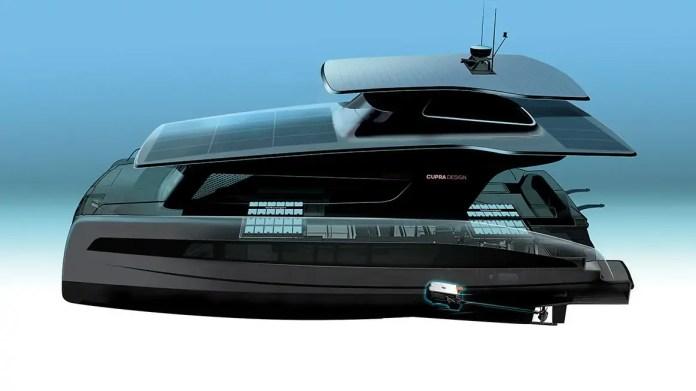 Volkswagen e Cupra con Silent Yachts per il Catamarano elettrico