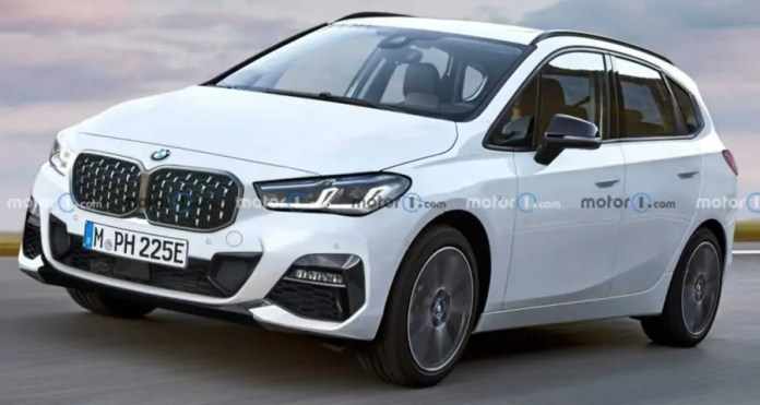 Nuova BMW Serie 2 Active Tourer 2022, Rendering e Uscita
