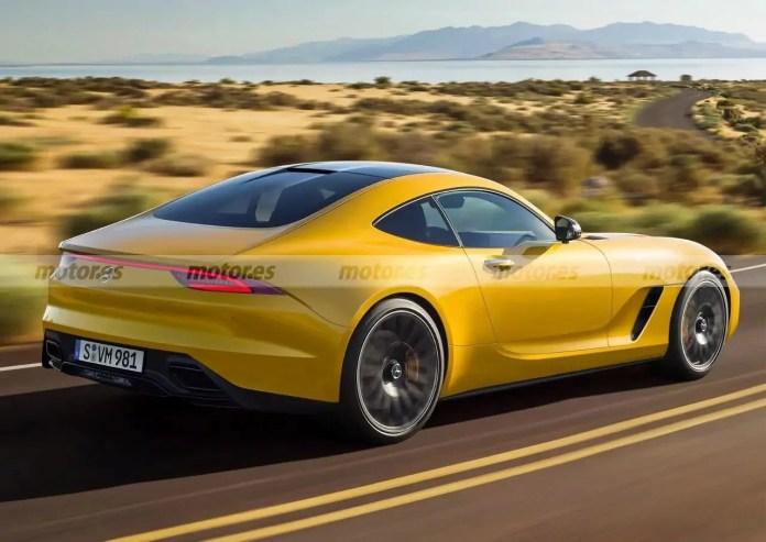 Nuova Mercedes-AMG GT 2022, Rendering e Uscita in Anteprima