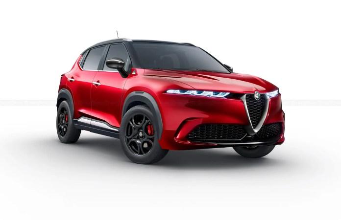 Nuova Alfa Romeo Brennero 2023, il Segmento B in Rendering