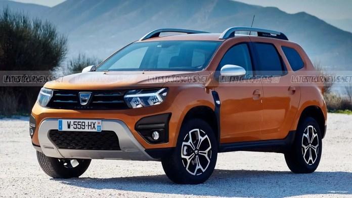 Nuova Dacia Duster 2022, il Restyling nei Rendering