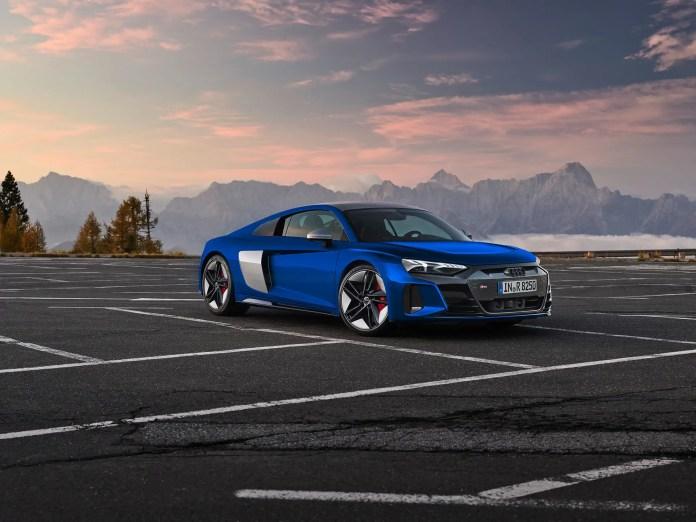 Nuova Audi R8 e-tron 2022, la Sportiva elettrica in Rendering