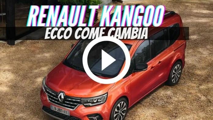 Nuova Renault Kangoo 2021, Dati tecnici e Info Ufficiali [VIDEO]
