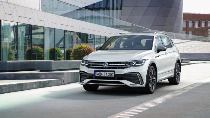 Nuova Volkswagen Tiguan Allspace 2021, il restyling in Anteprima