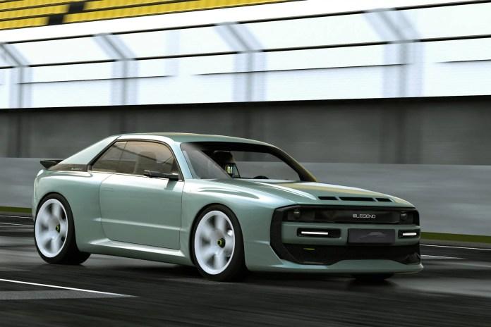 E-Legend EL1 2021, omaggio all'Audi Sport Quattro S1