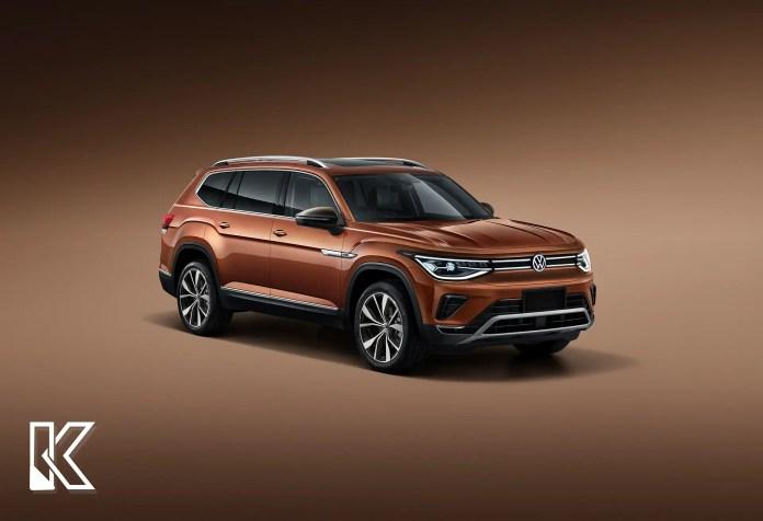 Nuova Volkswagen ID.8 2023, il Rendering in Anteprima
