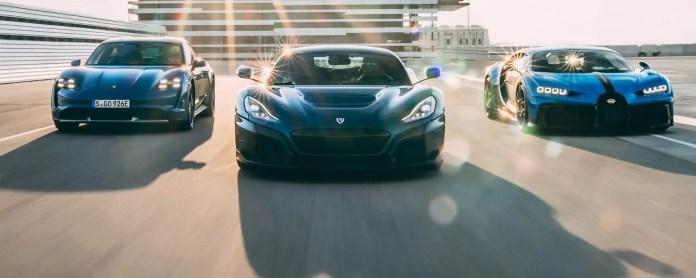 Rimac trasforma le Bugatti in Auto elettriche