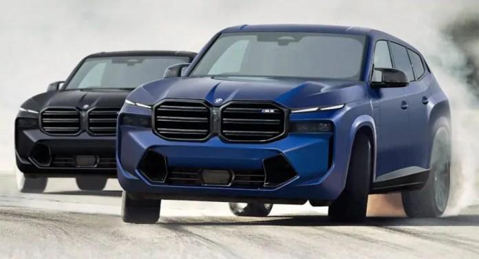 Nuova BMW X8 2022, i Rendering in Anteprima