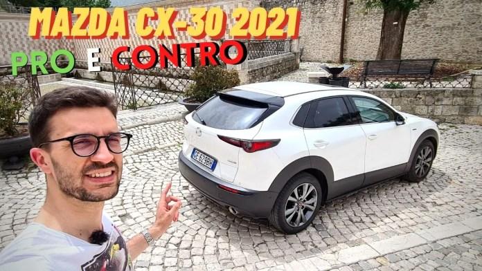 Mazda CX-30 2021 Skyactiv-X 186 CV | PRO & CONTRO [VIDEO]