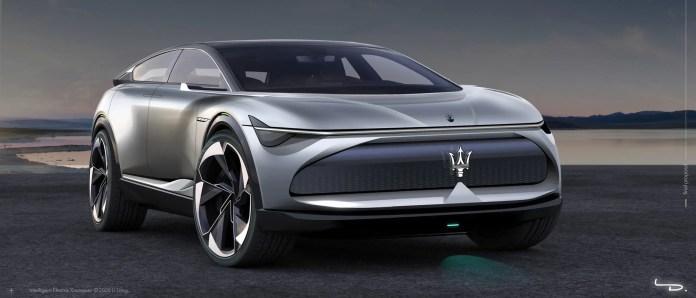 Nuova Maserati IEX 2023, il Rendering sfida Lamborghini Urus